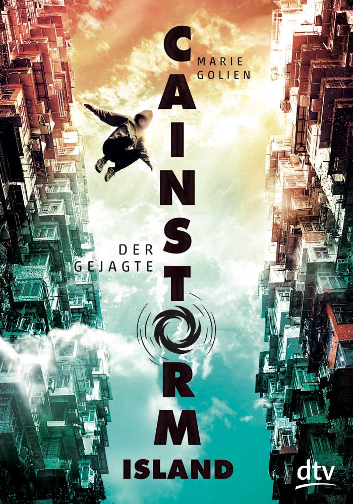 Cover des Buches Cainstorm Island